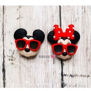 Mickey & Minnie Mouse Vacation Ear Studs. 🆕